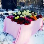 Декор места захоронения