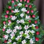 Вінок з живих квітів_19