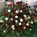 Вінок з живих квітів_10
