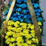 Вінок з живих квітів_8