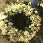 Вінок з живих квітів_4