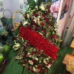 Вінок з живих квітів_26