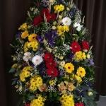 Вінок з живих квітів_34