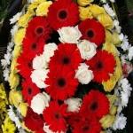 Вінок з живих квітів_35
