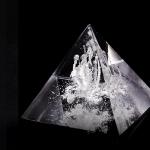 Памятное стекло с частицами праха_ps10-0