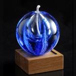 Памятное стекло с частицами праха_ps20-3