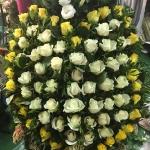 Венок из живых цветов_2