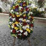 Венок из живых цветов_1