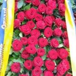 Венок из живых цветов_37