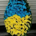 Венок из живых цветов_47