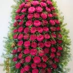Венок из живых цветов_68
