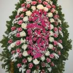 Венок из живых цветов_69
