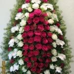 Венок из живых цветов_70