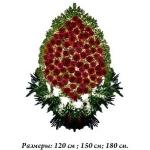 Венок из живых цветов_82